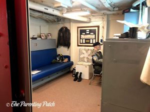 Room in the USS Midway Museum