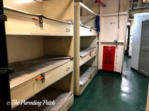 Sleeping Bunks in the USS Midway Museum