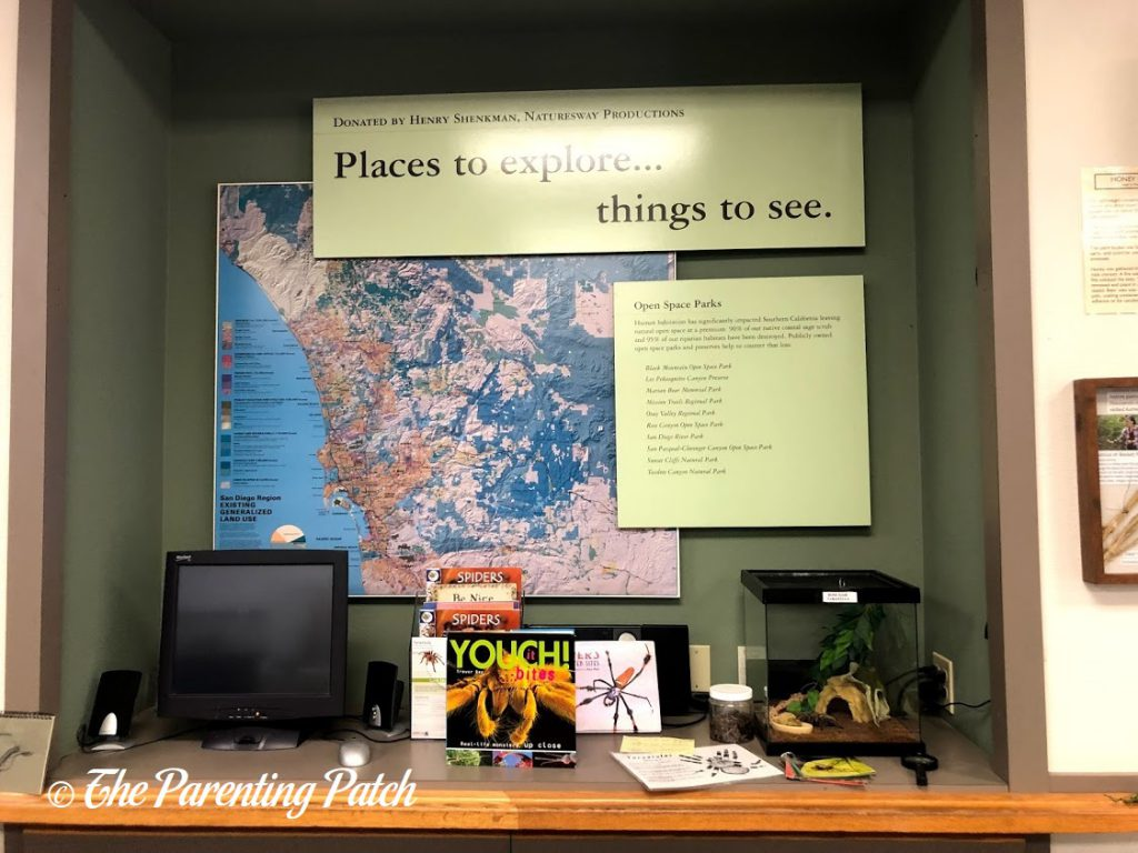 Places to Explore at the Tecolote Nature Center