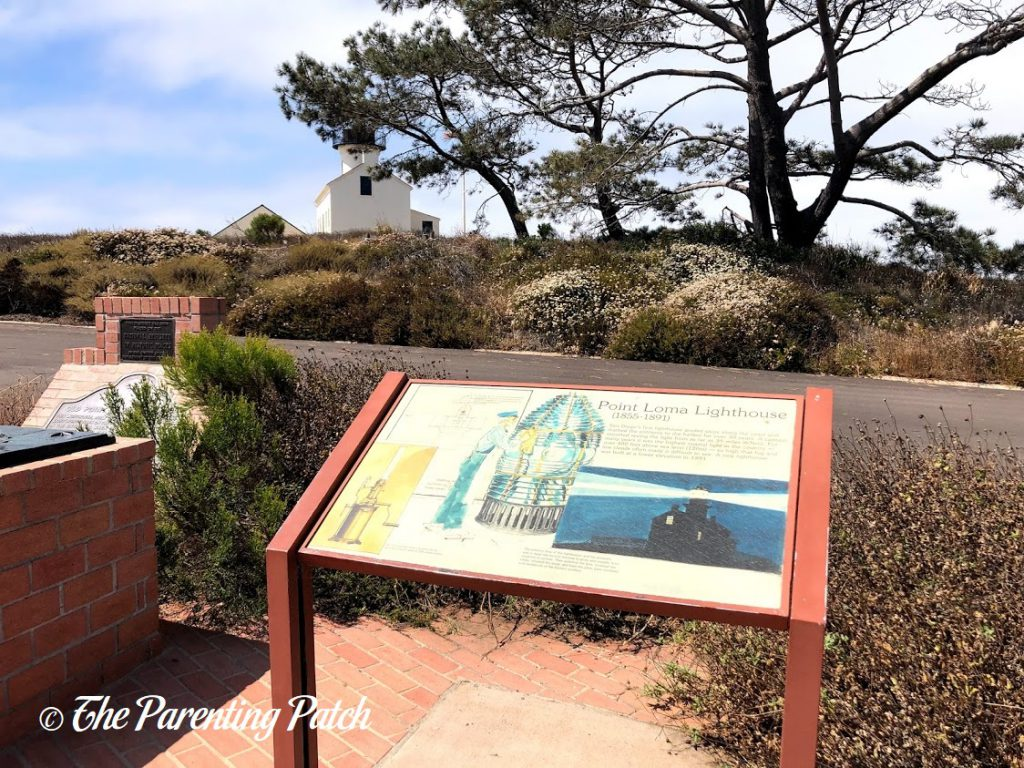 Point Loma Lighthouse Sign at Cabrillo National Monument