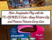 More Imaginative Play with the PLAYMOBIL Take Along Western City and Princess Unicorn Carry Case