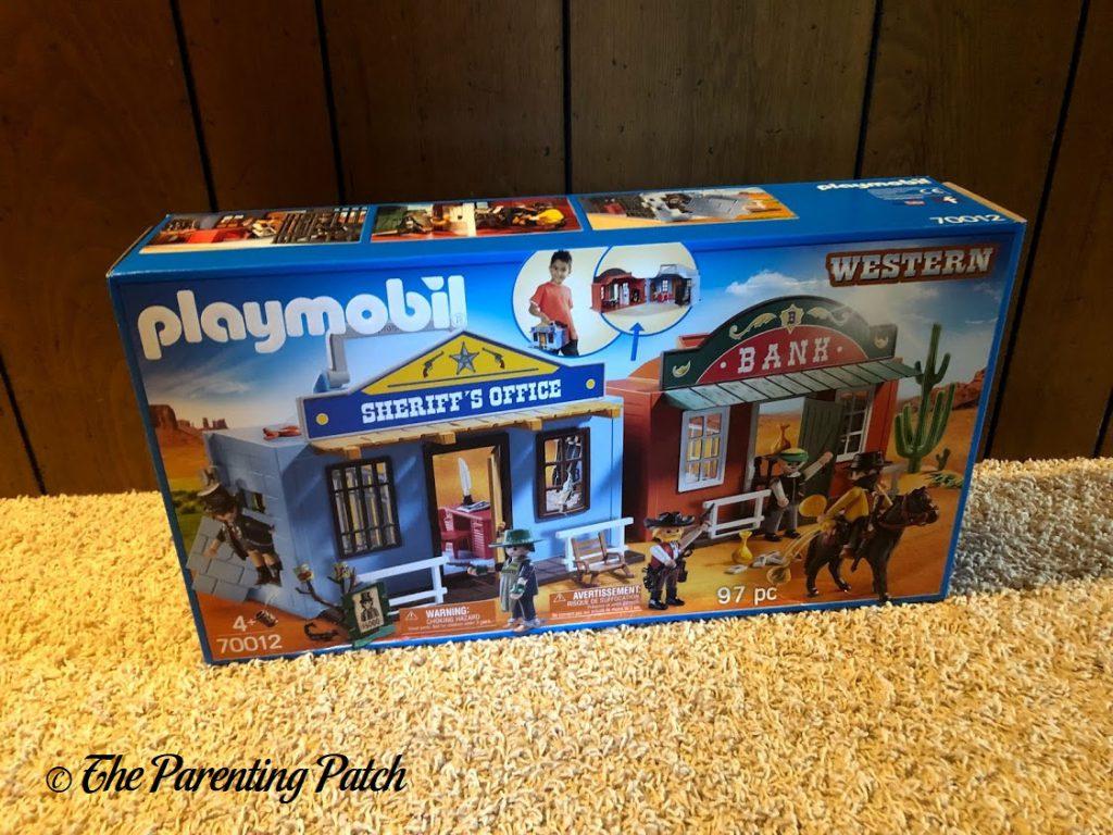 PLAYMOBIL Take Along Western City