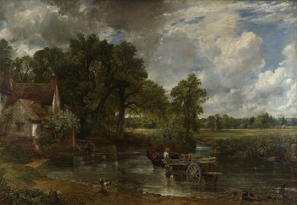 The Hay Wain of 1821