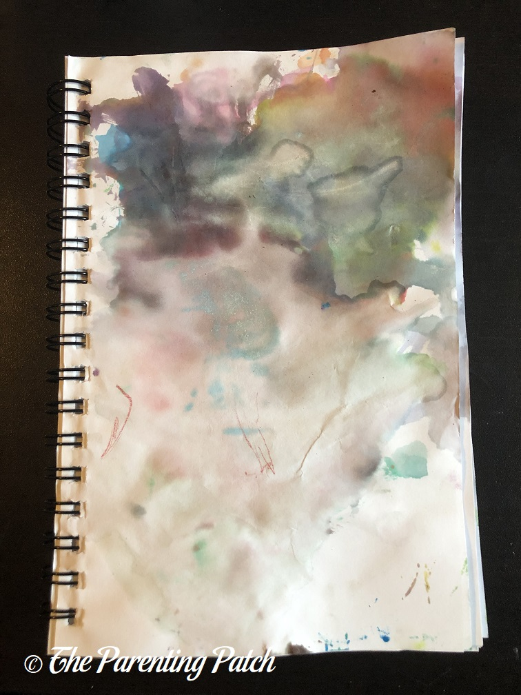 Cloud Study by Toddler
