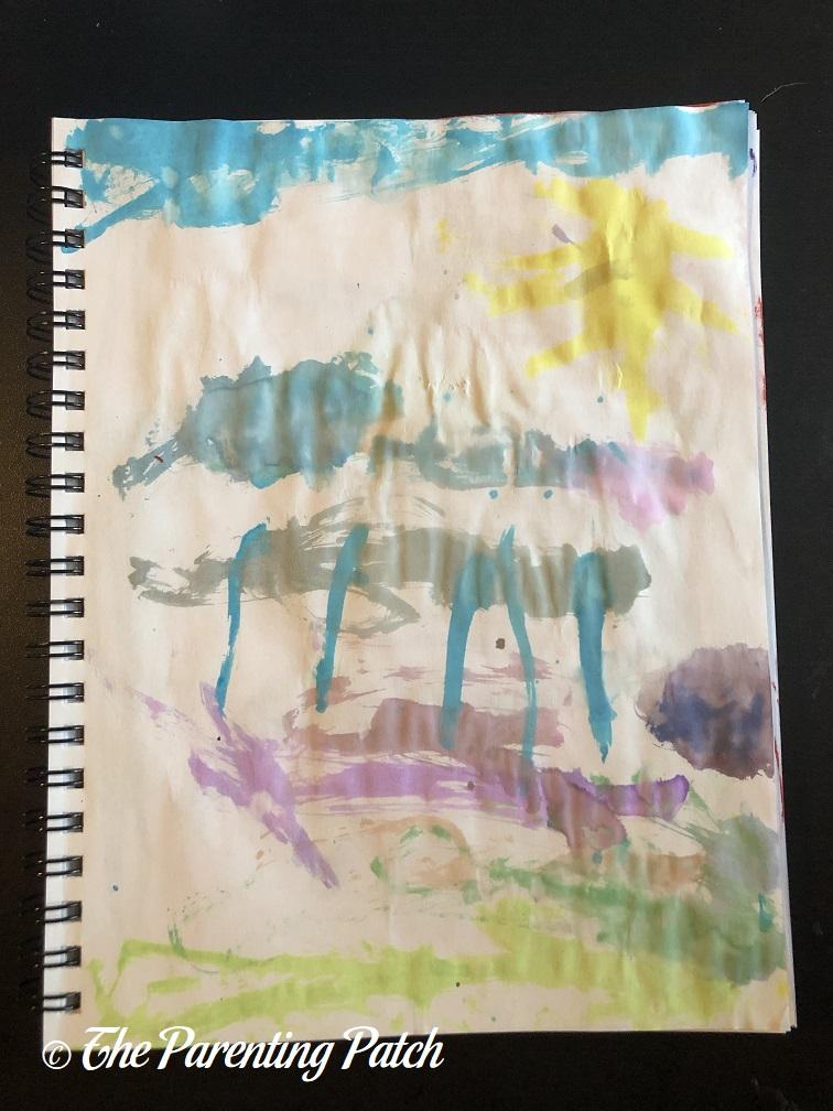 Cloud Study by Preschooler 1