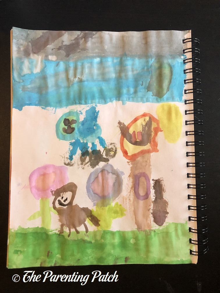 Cloud Study by Third Grader 1