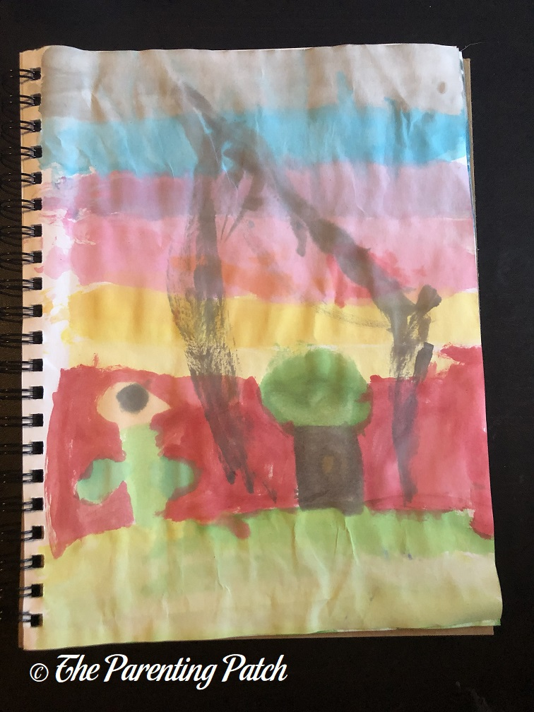 Cloud Study by Third Grader 2