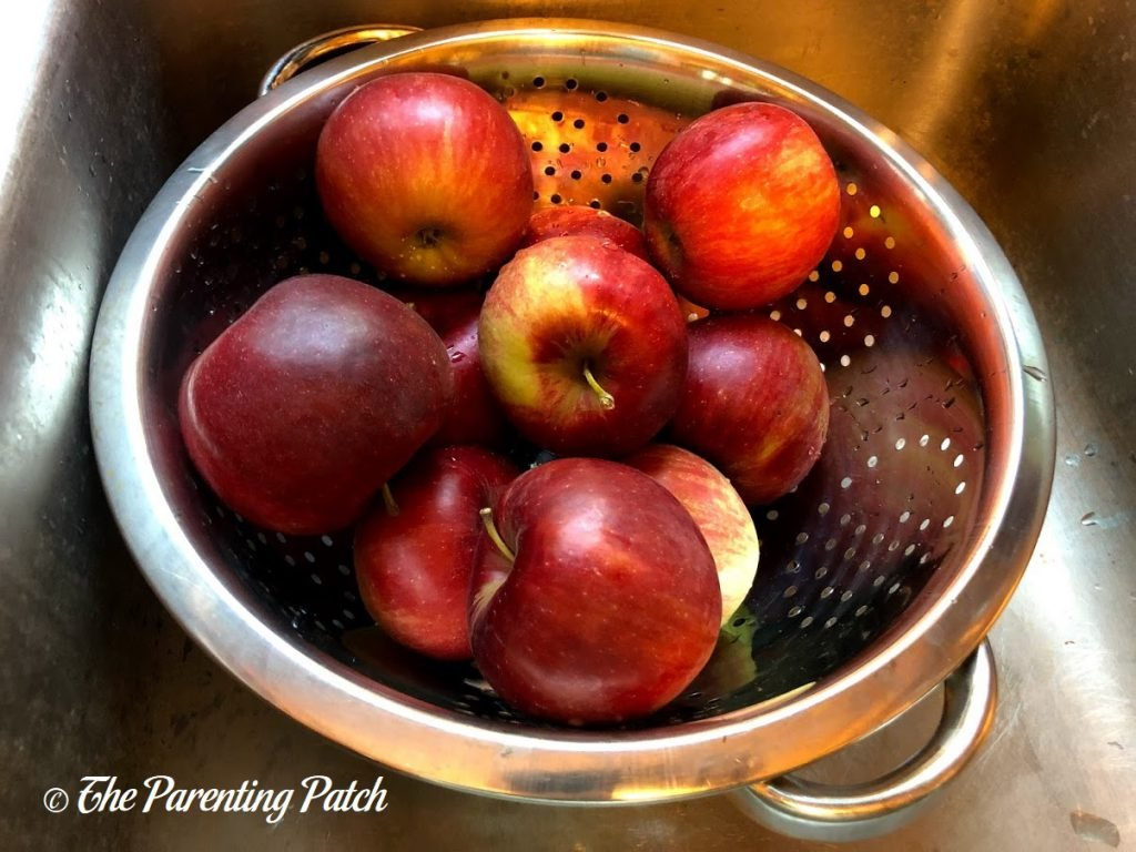 Apples for Pink Apple Jelly