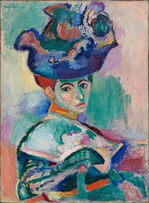 Henri Matisse/André Derain (Fauvism, Decoupage) Art Lesson