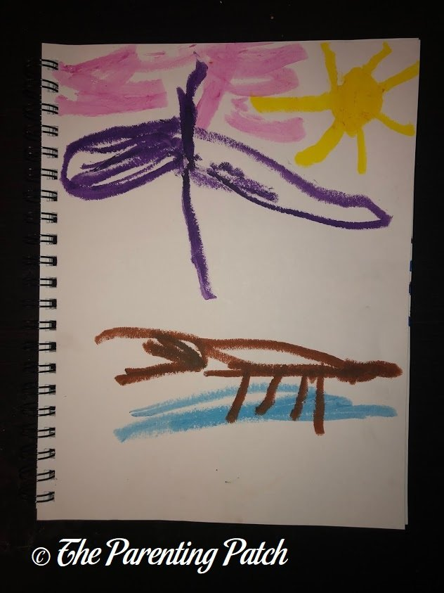 Fauvist Drawing by Preschooler 4