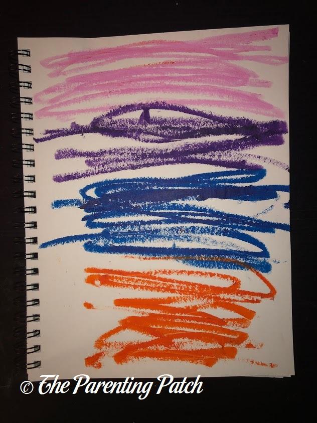 Fauvist Drawing by Preschooler 5