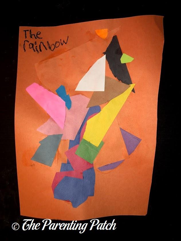 Decoupage Art by Third Grader
