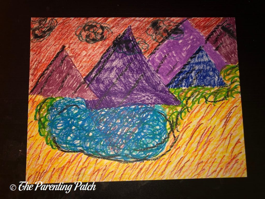 Fauvist Drawing by Adult 2