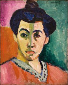The Green Stripe (Portrait of Madame Matisse) by Henri Matisse