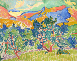 Mountains at Collioure by André Derain