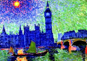 Houses of Parliament by André Derain