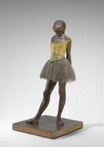 Little Dancer, Aged Fourteen by Edgar Degas