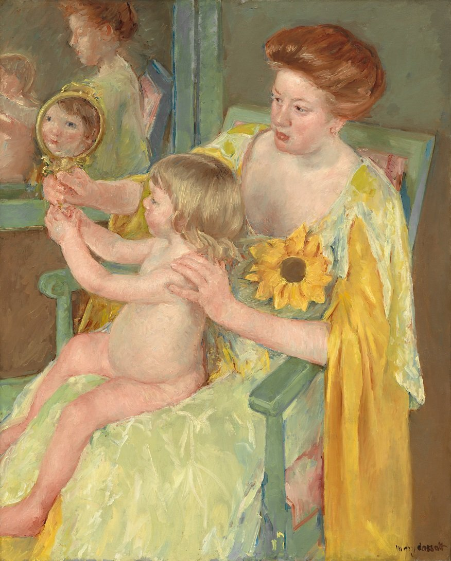Mother and Child by Mary Stevenson Cassatt