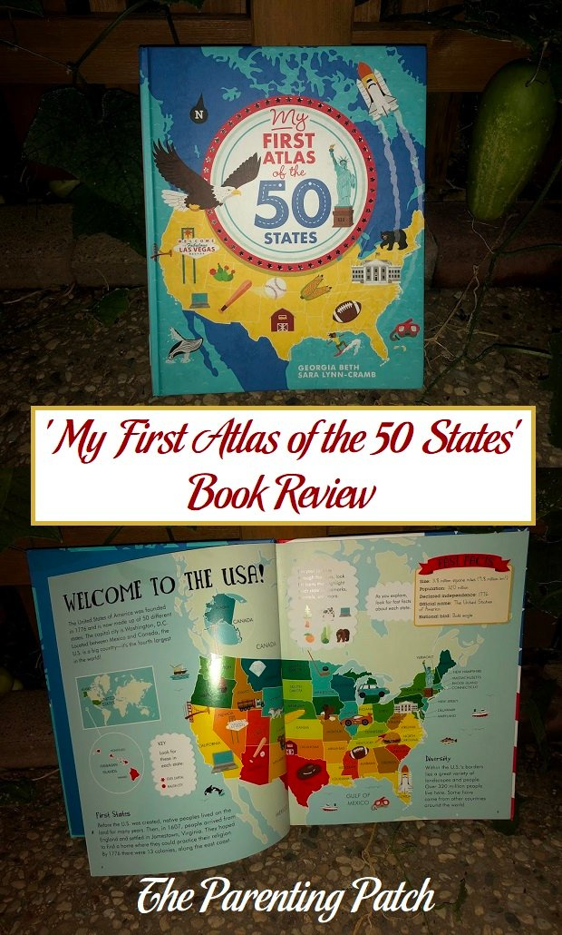 'My First Atlas of the 50 States' Book Review