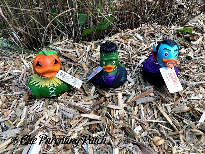 Wild Republic Halloween Rubber Ducks with Tags