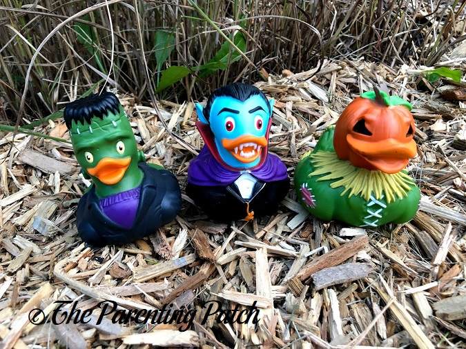 Wild Republic Halloween Rubber Ducks