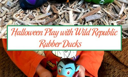 Halloween Play with Wild Republic Rubber Ducks