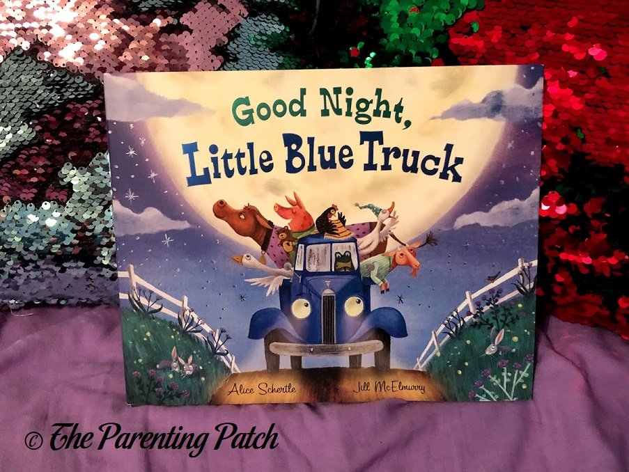 Front Cover of 'Good Night, Little Blue Truck'