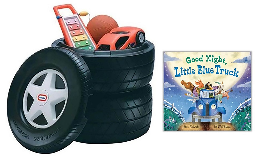'Good Night, Little Blue Truck' Book Review and Giveaway