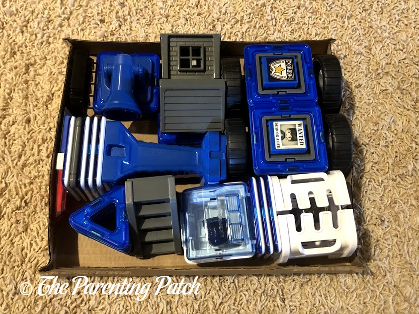 Magformers AMAZING Police Set Pieces
