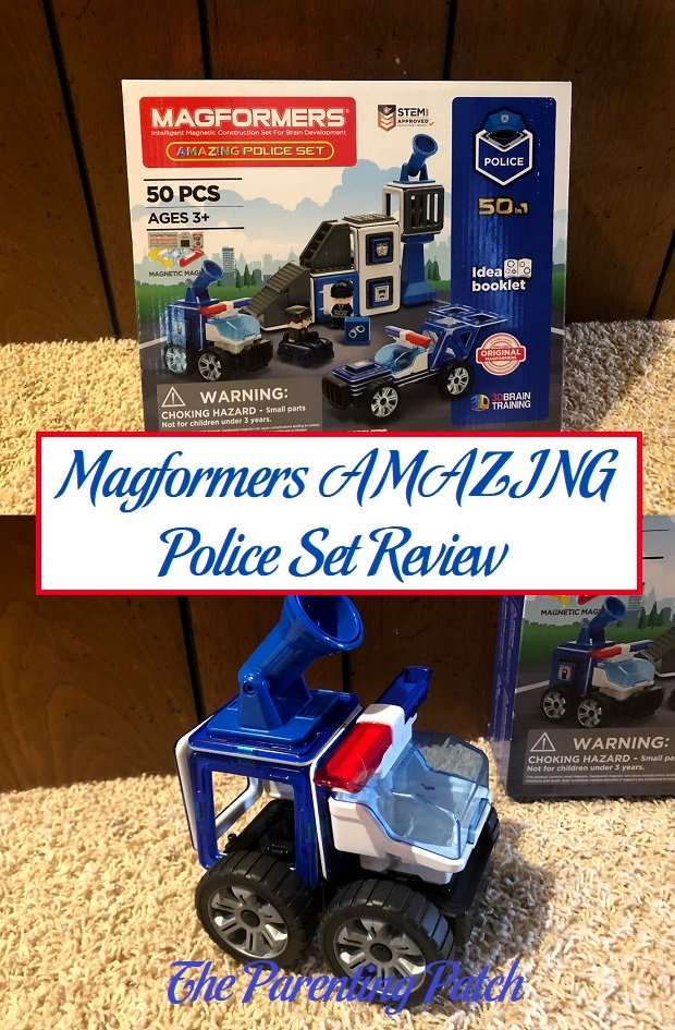 Magformers AMAZING Police Set Review