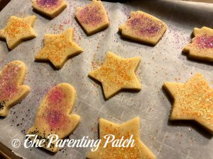 Unbaked Classic Cutout Sugar Cookies