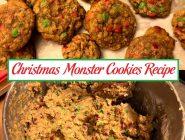 Christmas Monster Cookies Recipe