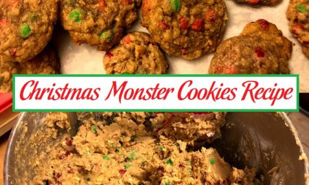 Christmas Monster Cookies Recipe