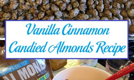 Vanilla Cinnamon Candied Almonds Recipe