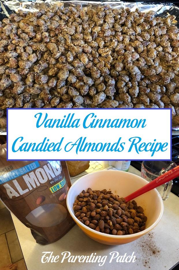 Vanilla Cinnamon Candied Almonds Recipe