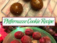 Pfeffernusse Cookie Recipe