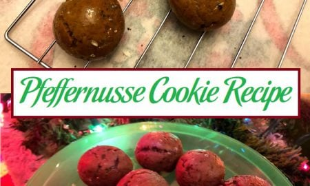 Pfeffernusse Cookie Recipe
