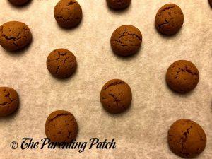 Baked Pfeffernusse Cookies