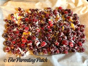 Unbaked Sugared Cranberries