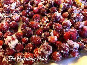 Sugared Cranberries 2