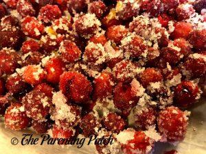 Sugared Cranberries 3
