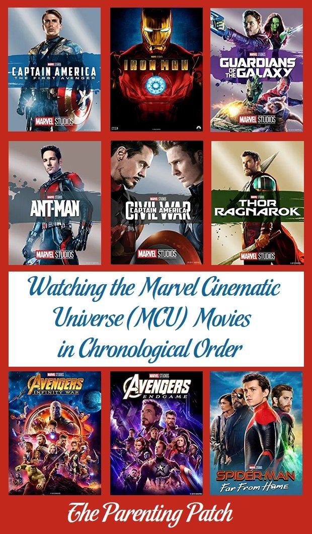 Watching the Marvel Cinematic Universe (MCU) Movies in Chronological Order