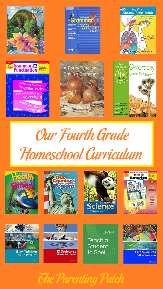 Our Fourth Grade Homeschool Curriculum