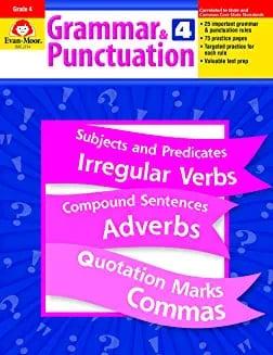 Grammar and Punctuation, Grade 4