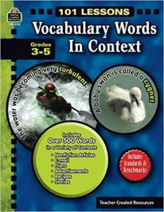 101 Lessons: Vocabulary Words in Context: Vocabulary Words in Context
