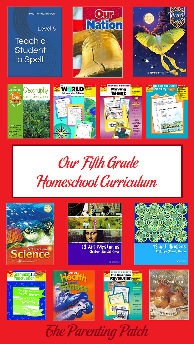 Our Fifth Grade Homeschool Curriculum
