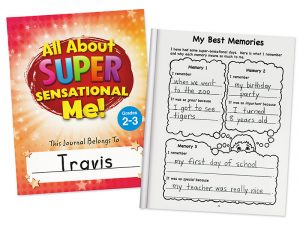 All About Sensational Me Journal