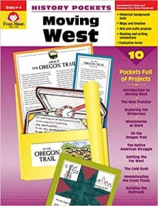 History Pockets Moving West Grades 4-6