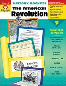History Pockets The American Revolution Grades 4-6