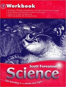 Scott Foresman Science Grade 5 Workbook